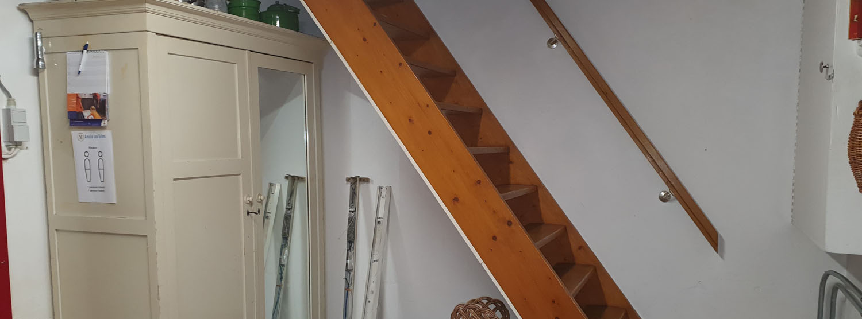 oude trap keuken heemhuis