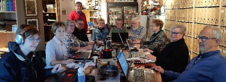werkgroep digitalisering in actie